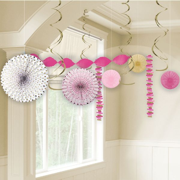 Pink First Holy Communion Room Decoration Kit